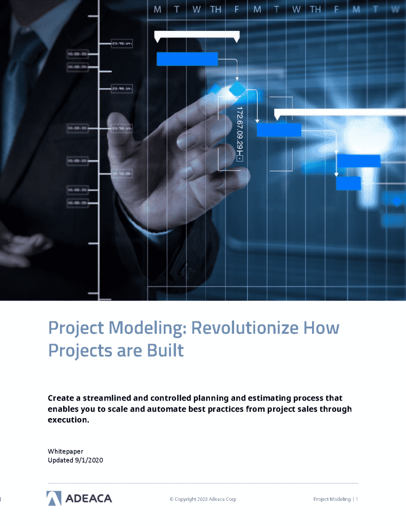 project business modeling