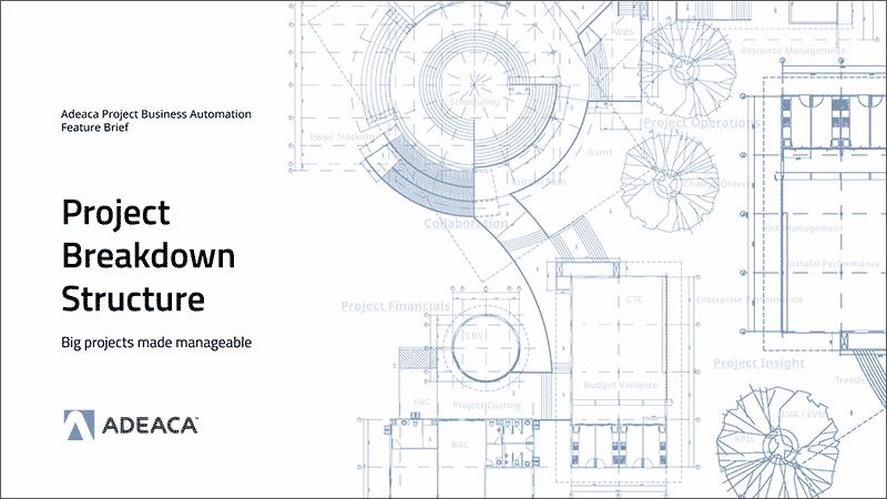 project breakdown structure